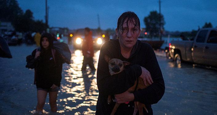 Inundación en Texas