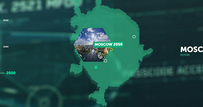 Moscú en el portal de ideas futuristas Earth 2050 de Kaspersky Lad