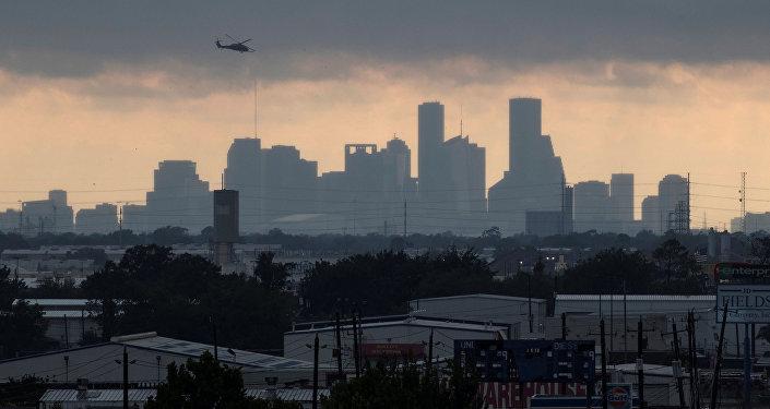 Huracán Harvey en Houston