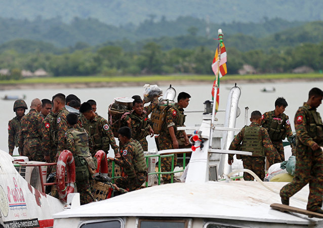 Los militares de Birmania