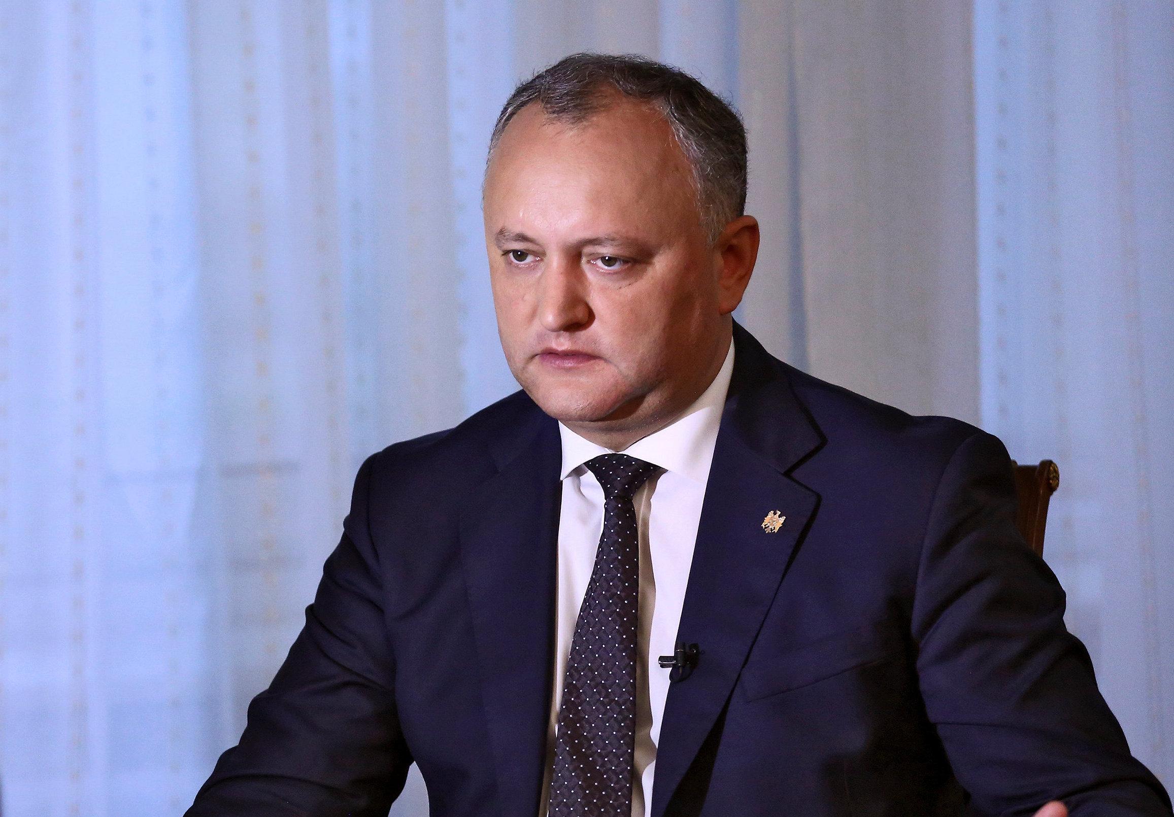 Ígor Dodon, presidente de Moldavia