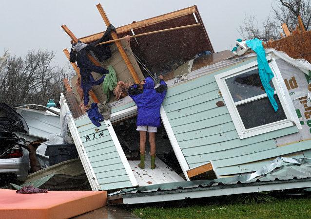 Consecuencias del huracán Harvey en Luisiana