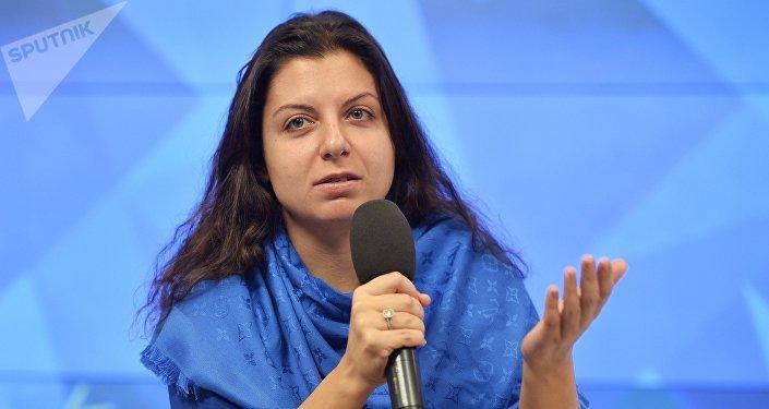Margarita Simonián,redactora jefa de Sputnik