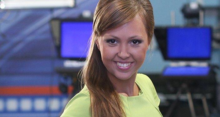 Anna Kurbátova, reportera rusa secuestrada en Kiev