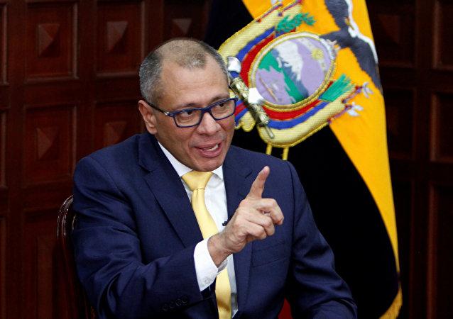 Jorge Glas, vicepresidente de Ecuador (archivo)