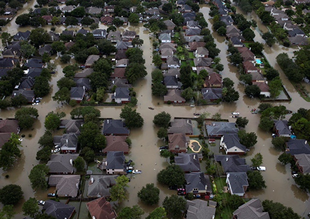 Consecuencias del huracán Harvey en Texas, EEUU (imagen referencial)