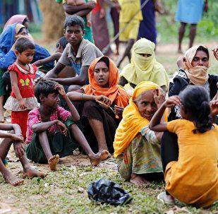 Los refugiados rohingyas en Bangladés (archivo)