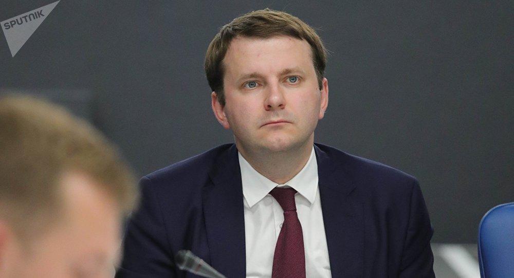 Maxim Oreshkin, ministro de Desarrollo Económico de Rusia