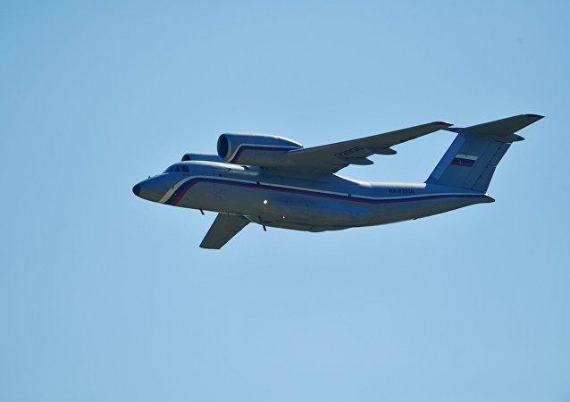 Un avión An-72 (archivo)