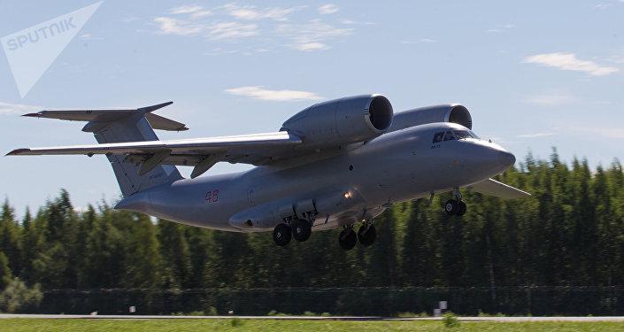 El avión de transporte An-72