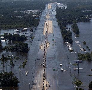 Consecuencias del huracán Harvey en EEUU