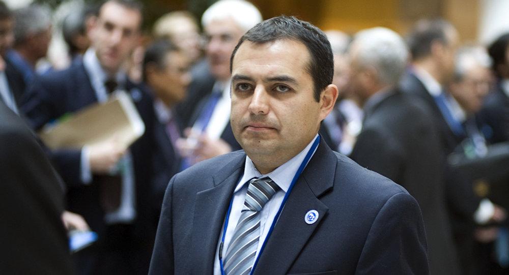Ernesto Cordero, el presidente del Senado de México