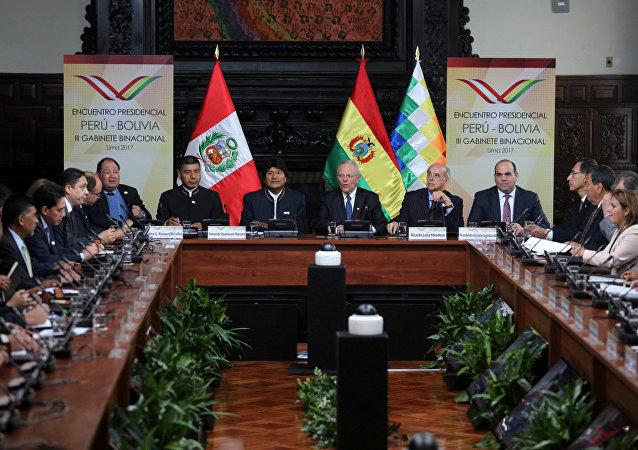 La reunión del III Gabinete Binacional en Lima