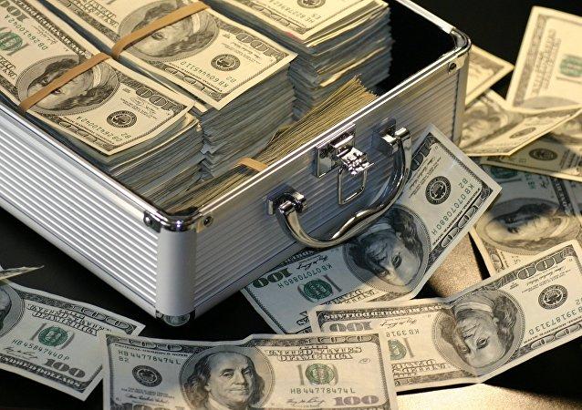 Maleta con dinero (imagen referencial)
