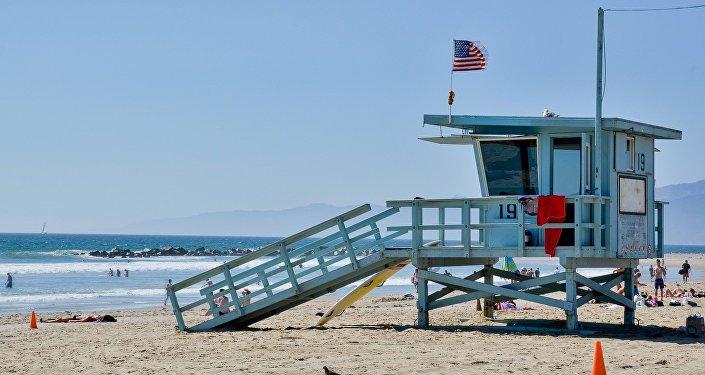 Una playa de EEUU (imagen referencial)