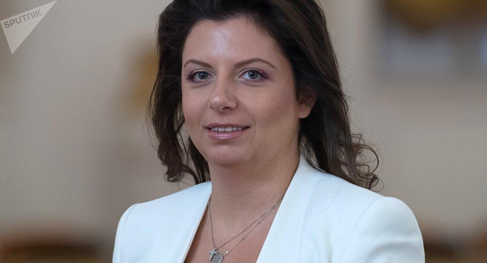 Margarita Simonián, la directora de RT y Sputnik
