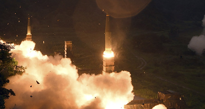 Misiles surcoreanos Hyunmoo (Archivo)