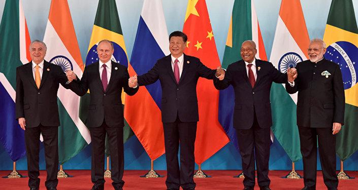 Los líderes de los BRICS