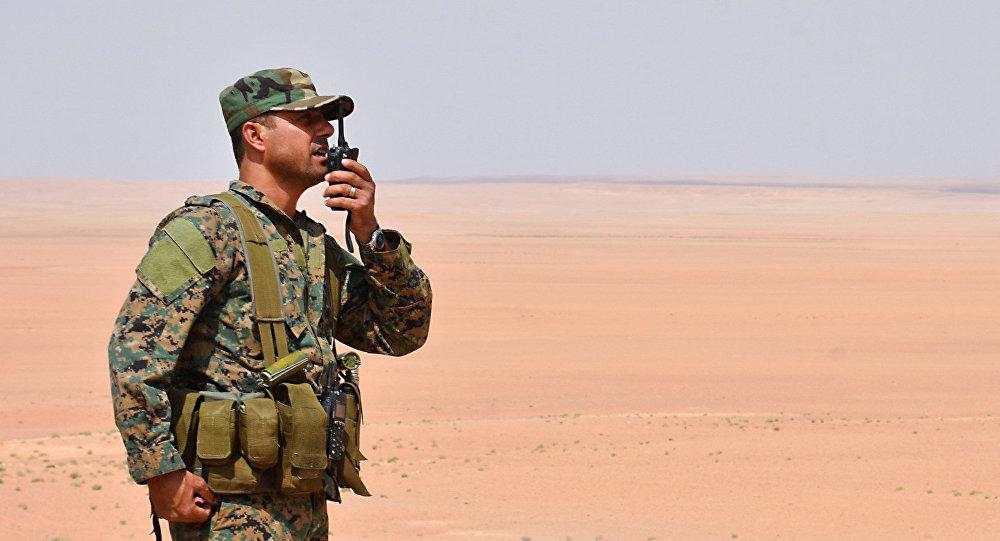 Un miembro del ejército sirio en Deir Ezzor (archivo)
