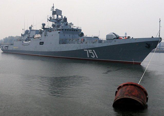 La fragata Almirante Essen (archivo)