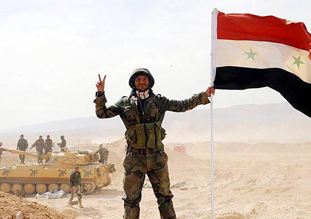 Un soldado del Ejército sirio (Imagen referencial)