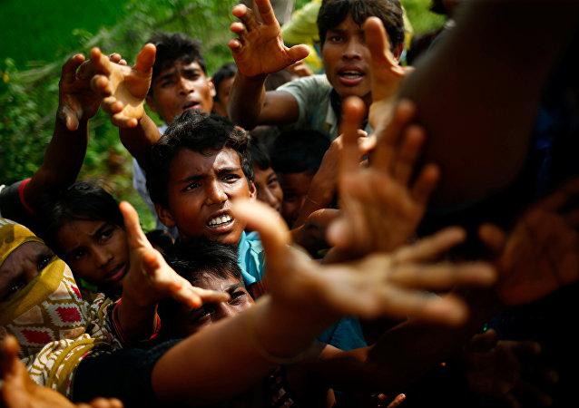 Los refugiados rohinyás