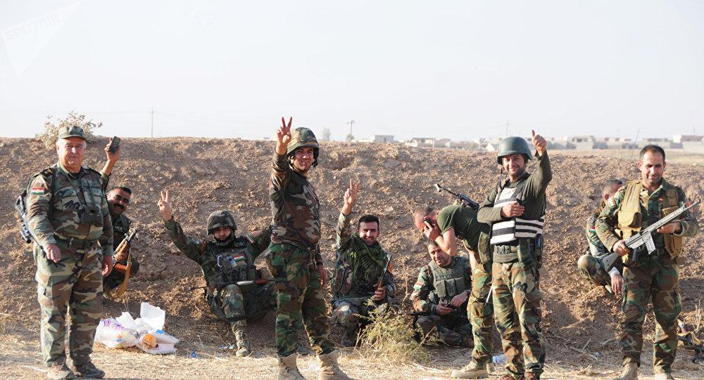 Los soldados kurdos