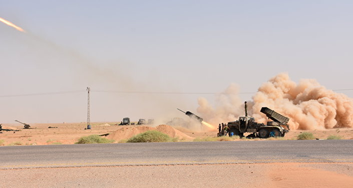 Submarinos rusos atacan con misiles varios objetivos del EI en Siria