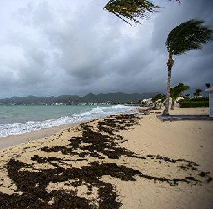 Huracán Irma en San Martín