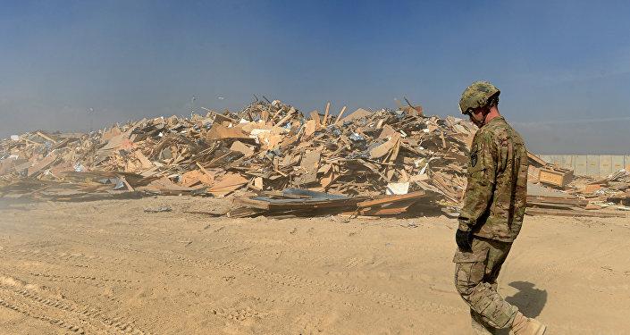 Base aérea de EEUU en Bagram, Afganistán