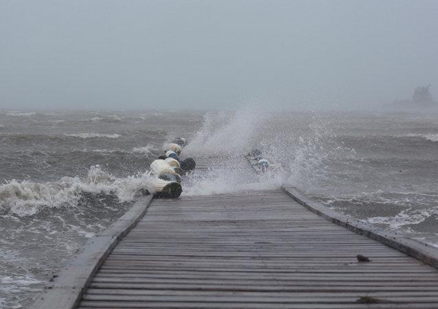 El huracán Irma se acerca a Puerto Rico