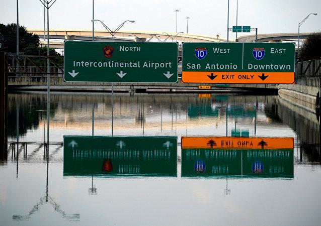Consecuencias del huracán Harvey en Houston, EEUU