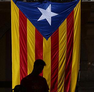 Estelada, bandera independentista de Cataluña (archivo)