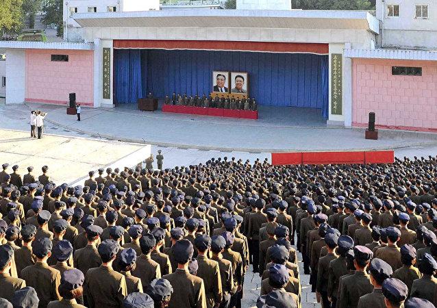 La reunión política en Corea del Norte (imagen referencial)