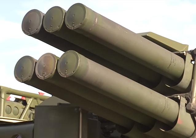 El sistema antiaéreo ruso de corto alcance Sosna
