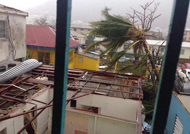 Las consecuencias del huracán Irma