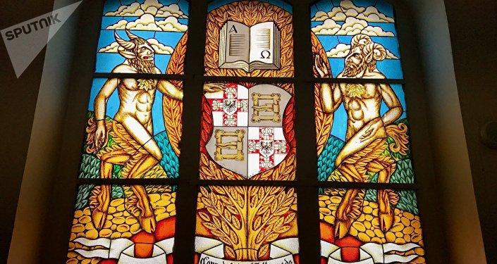 Vidrieras de la Catedral de Kaliningrado