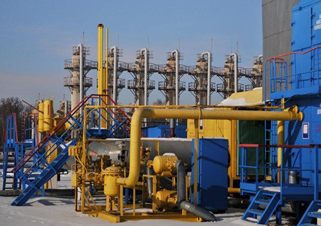 Бильче-Волыцко-Угерское газохранилище на Украине