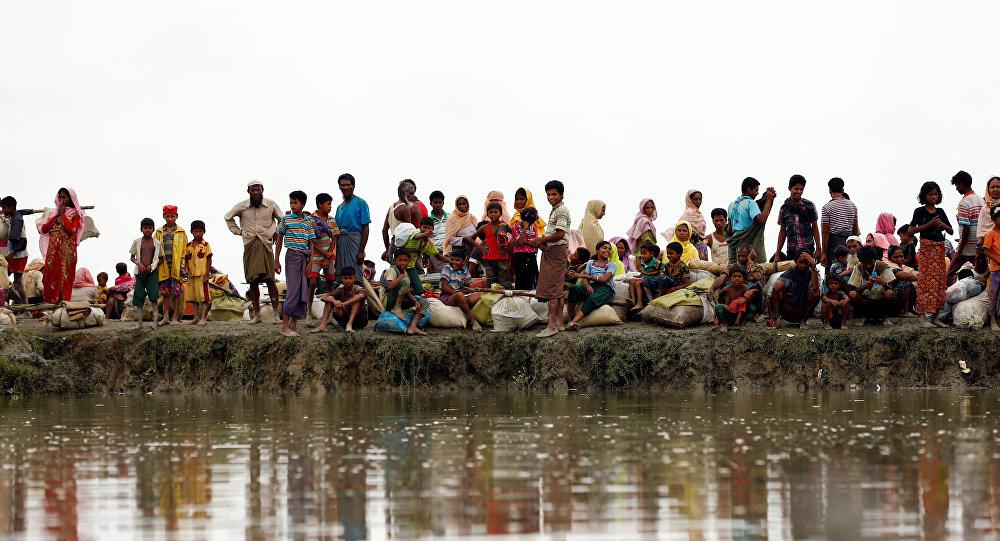 Los refugiados rohinyás (archivo)