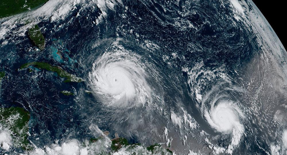 Huracánes Irma y José