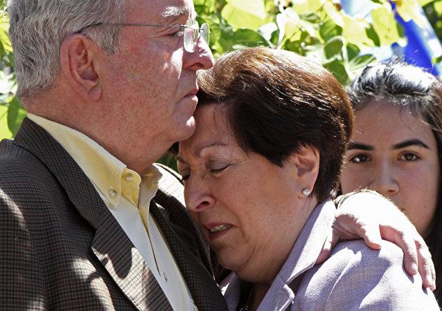 Carmen Frei, la hija del expresidente chileno Eduardo Frei Montalva