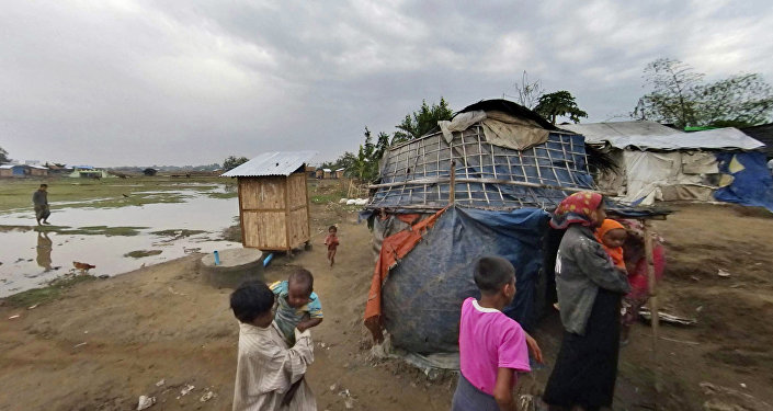 Refugiados rohinyás (archivo)