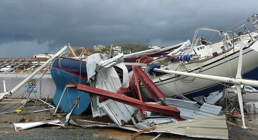 El Huracán Irma arrasó con Barbuda y destruyó barrios