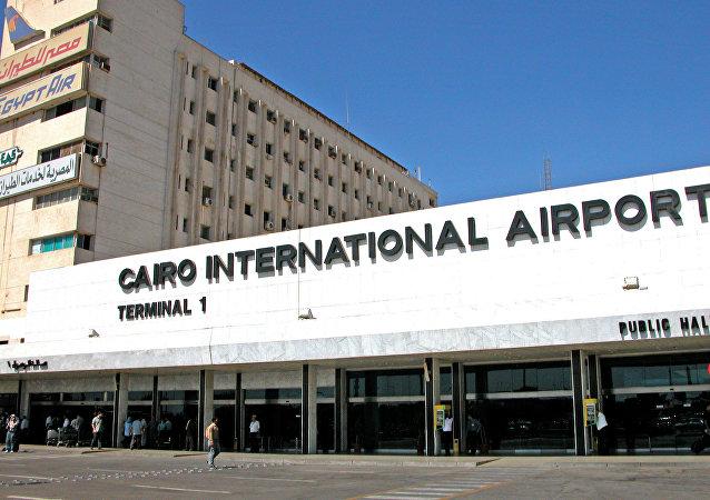 El aeropuerto del Cairo, Egipto (archivo)