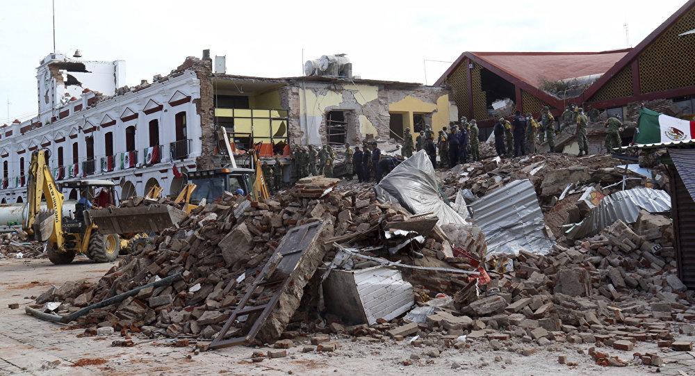 Sube a 90 número de muertos por terremoto en México