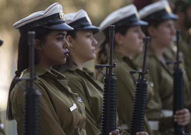 Las mujeres del Ejército de Israel (archivo)