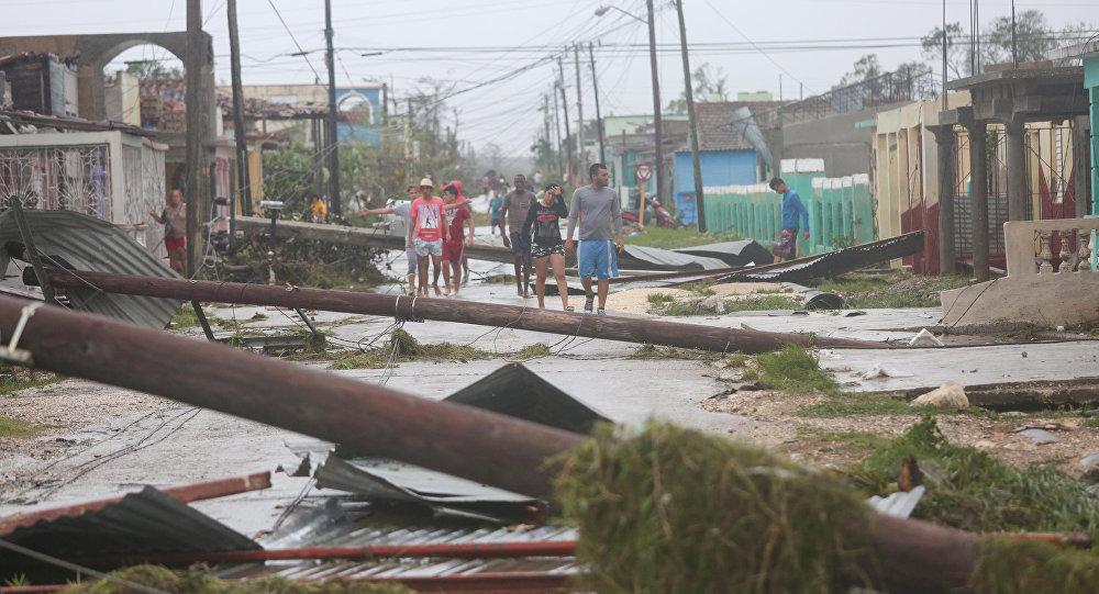 Las consecuencias del huracán Irma en Cuba