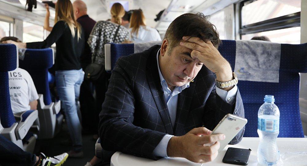 Mijaíl Saakashvili, el expresidente de Georgia y exgobernador de la provincia ucraniana de Odesa