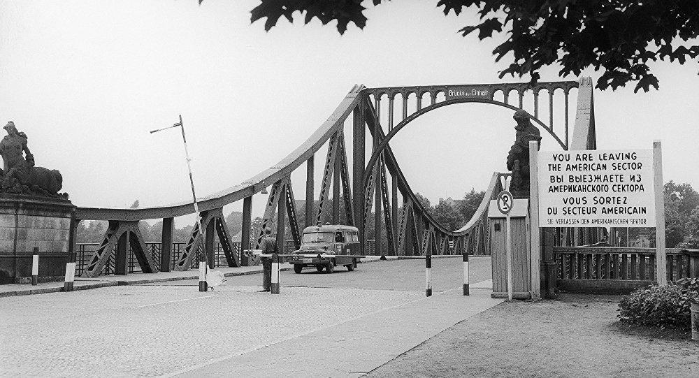 El puente Glienicke, 27 de julio de 1962