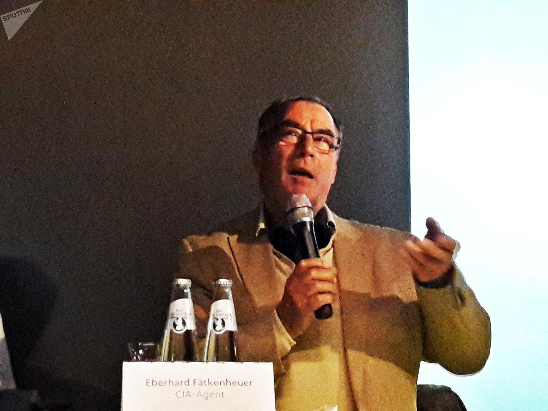 Eberhard Faetkenheuer, exagente de la CIA en Berlín